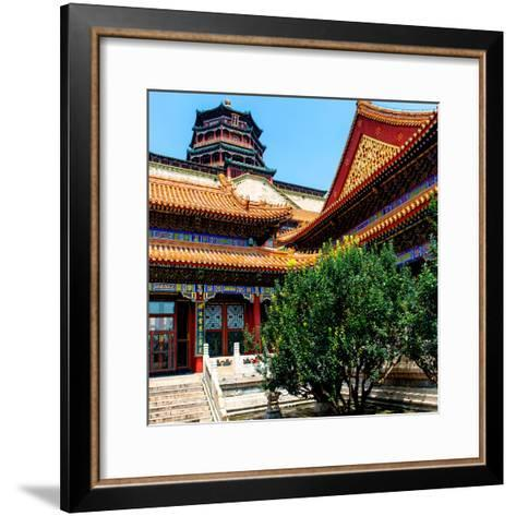 China 10MKm2 Collection - Pavilion of Buddhist - Summer Palace-Philippe Hugonnard-Framed Art Print