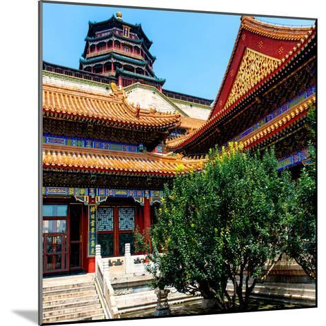 China 10MKm2 Collection - Pavilion of Buddhist - Summer Palace-Philippe Hugonnard-Mounted Photographic Print