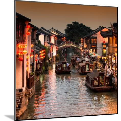 China 10MKm2 Collection - Shantang water Town - Suzhou-Philippe Hugonnard-Mounted Photographic Print