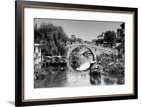 China 10MKm2 Collection - Shanghai Water Town - Qibao-Philippe Hugonnard-Framed Art Print