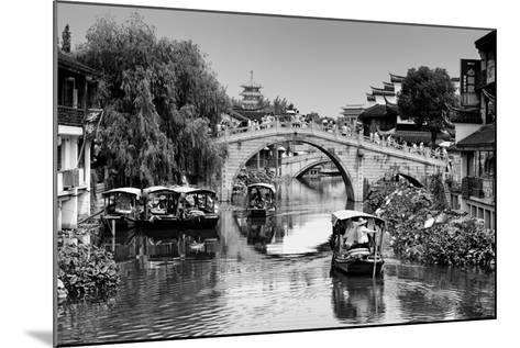 China 10MKm2 Collection - Shanghai Water Town - Qibao-Philippe Hugonnard-Mounted Photographic Print