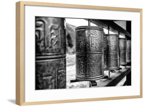 China 10MKm2 Collection - Prayer Wheels-Philippe Hugonnard-Framed Art Print