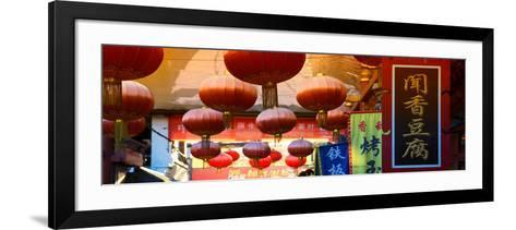 China 10MKm2 Collection - Red Lanterns-Philippe Hugonnard-Framed Art Print