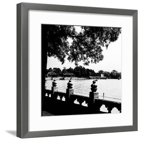 China 10MKm2 Collection - Kunming Lake - Beijing-Philippe Hugonnard-Framed Art Print