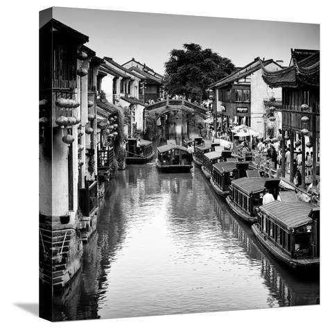 China 10MKm2 Collection - Shantang water Town - Suzhou-Philippe Hugonnard-Stretched Canvas Print