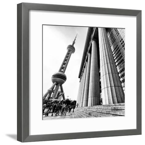 China 10MKm2 Collection - Oriental Pearl Tower - Shanghai-Philippe Hugonnard-Framed Art Print