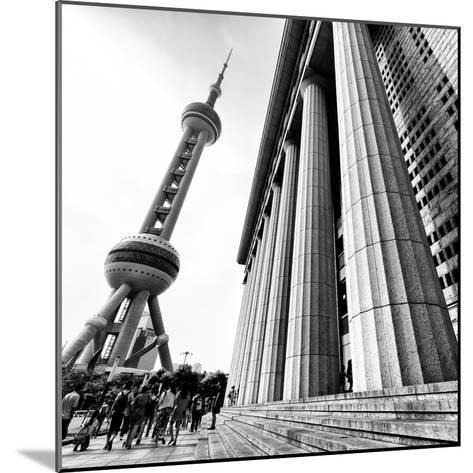 China 10MKm2 Collection - Oriental Pearl Tower - Shanghai-Philippe Hugonnard-Mounted Photographic Print