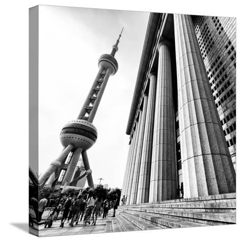 China 10MKm2 Collection - Oriental Pearl Tower - Shanghai-Philippe Hugonnard-Stretched Canvas Print