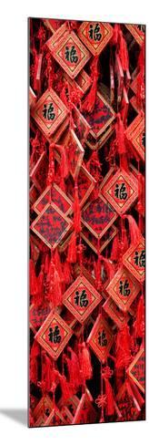 China 10MKm2 Collection - Prayer Buddhist Temple-Philippe Hugonnard-Mounted Photographic Print