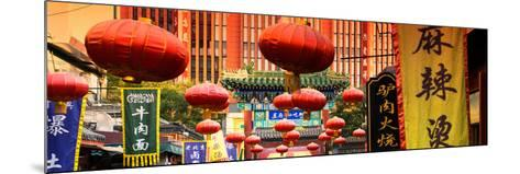 China 10MKm2 Collection - Red Lanterns-Philippe Hugonnard-Mounted Photographic Print