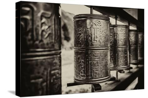 China 10MKm2 Collection - Prayer Wheels-Philippe Hugonnard-Stretched Canvas Print