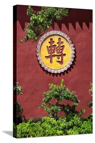 China 10MKm2 Collection - Leshan Temple-Philippe Hugonnard-Stretched Canvas Print