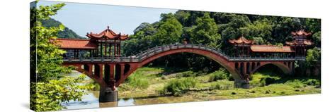 China 10MKm2 Collection - Leshan Giant Buddha Bridge-Philippe Hugonnard-Stretched Canvas Print