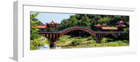 China 10MKm2 Collection - Leshan Giant Buddha Bridge-Philippe Hugonnard-Framed Art Print