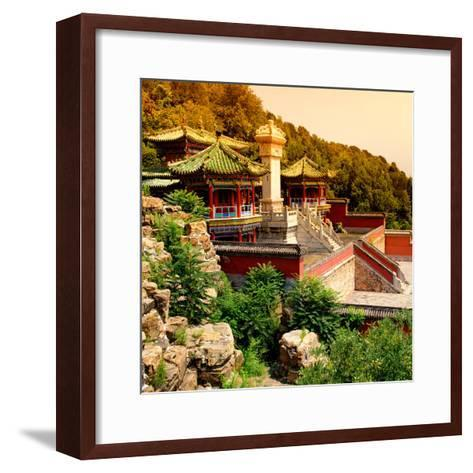 China 10MKm2 Collection - Summer Palace Temple-Philippe Hugonnard-Framed Art Print