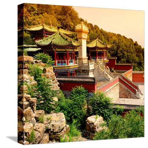 China 10MKm2 Collection - Summer Palace Temple-Philippe Hugonnard-Stretched Canvas Print