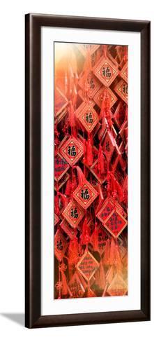 China 10MKm2 Collection - Prayer Buddhist Temple-Philippe Hugonnard-Framed Art Print