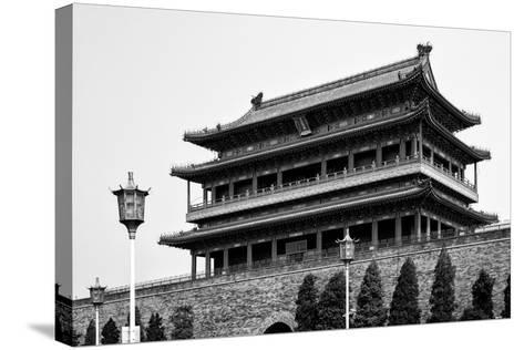 China 10MKm2 Collection - Qianmen-Philippe Hugonnard-Stretched Canvas Print