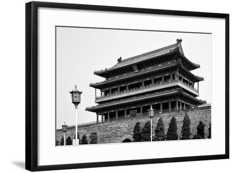 China 10MKm2 Collection - Qianmen-Philippe Hugonnard-Framed Art Print