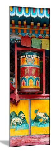 China 10MKm2 Collection - Prayer Wheels-Philippe Hugonnard-Mounted Photographic Print