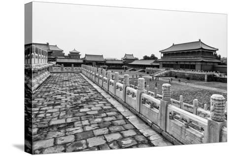 China 10MKm2 Collection - Palace Area of the Forbidden City-Philippe Hugonnard-Stretched Canvas Print