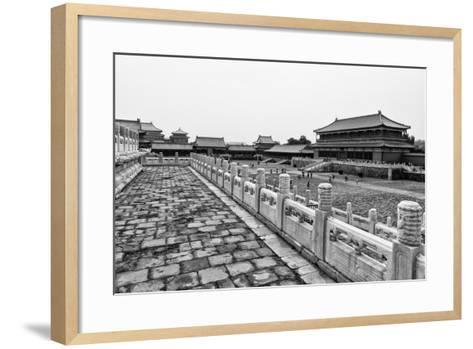 China 10MKm2 Collection - Palace Area of the Forbidden City-Philippe Hugonnard-Framed Art Print