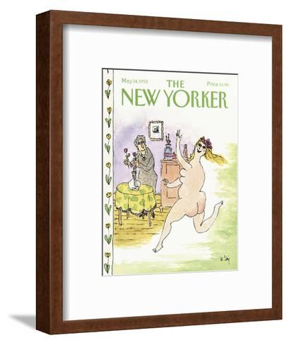 The New Yorker Cover - May 24, 1993-William Steig-Framed Art Print