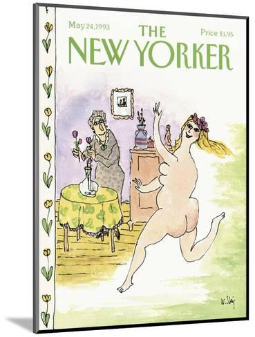 The New Yorker Cover - May 24, 1993-William Steig-Mounted Premium Giclee Print