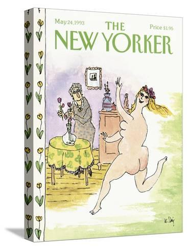 The New Yorker Cover - May 24, 1993-William Steig-Stretched Canvas Print