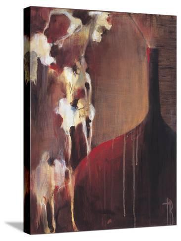 Persimmon Vase II-Terri Burris-Stretched Canvas Print