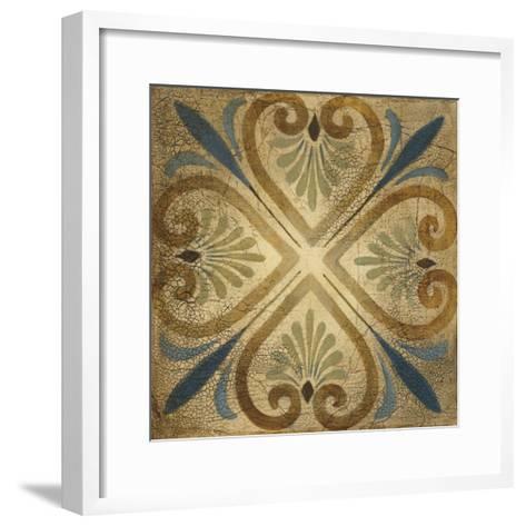 Petite Tiles III-Liz Jardine-Framed Art Print