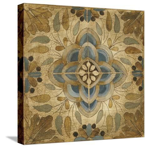 Petite Tiles II-Liz Jardine-Stretched Canvas Print