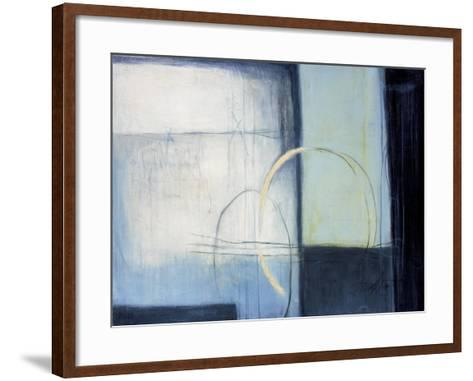 The Way to Blue-Thad Donat-Framed Art Print