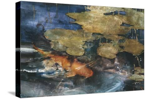 Koi-Theo Beck-Stretched Canvas Print
