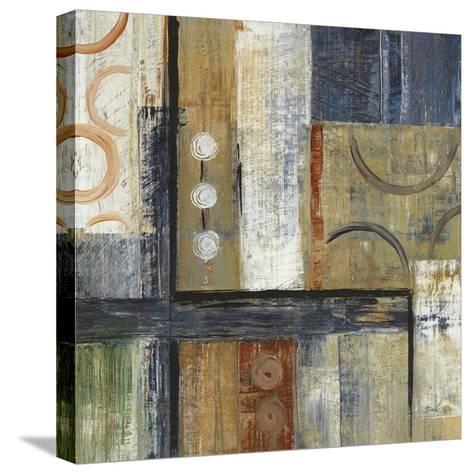 Coincidental Lines I-Carol Black-Stretched Canvas Print
