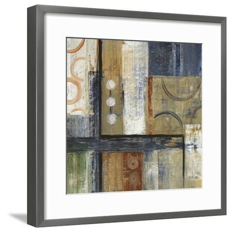Coincidental Lines I-Carol Black-Framed Art Print