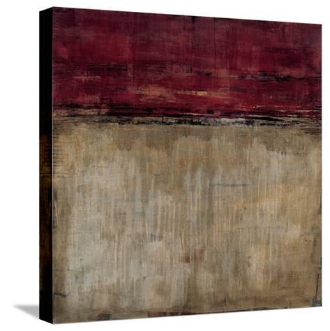 Pompeian Red-Liz Jardine-Stretched Canvas Print
