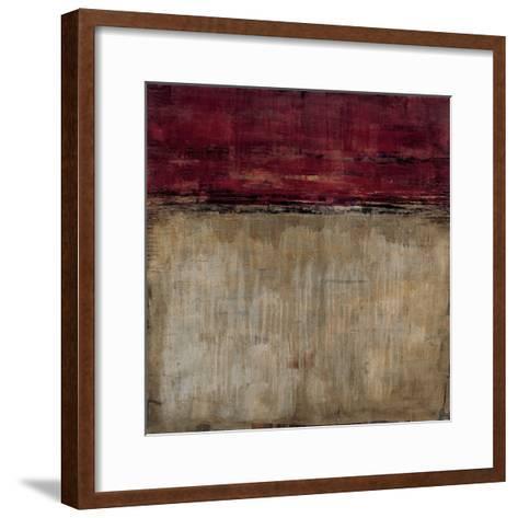 Pompeian Red-Liz Jardine-Framed Art Print