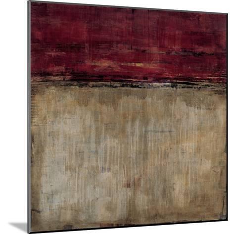 Pompeian Red-Liz Jardine-Mounted Art Print