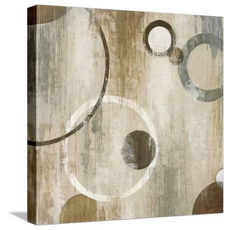 Orlando Mod Circles II-Liz Jardine-Stretched Canvas Print