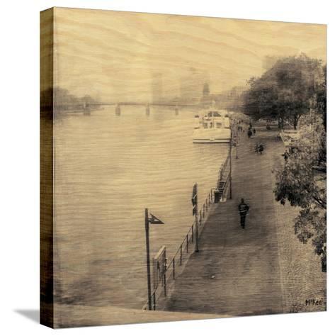 Frankfurt I-Casey Mckee-Stretched Canvas Print