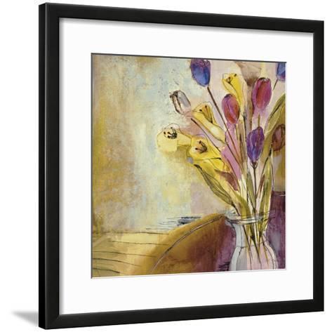 Fandango II-Jill Martin-Framed Art Print