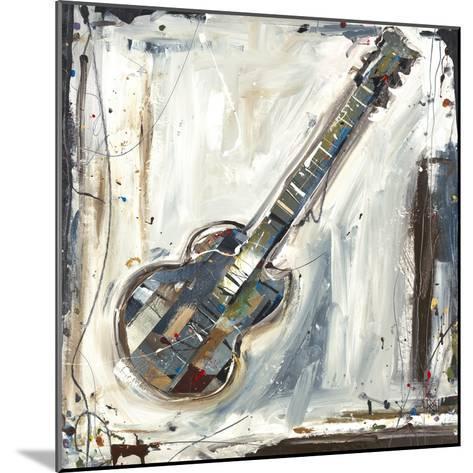 Imprint Guitar-Kelsey Hochstatter-Mounted Art Print