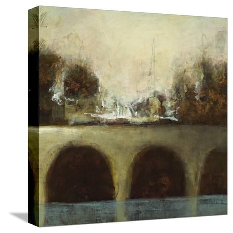 Foggy Bridge II-Randy Hibberd-Stretched Canvas Print