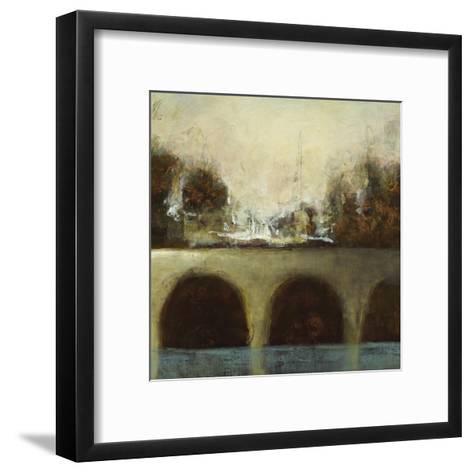 Foggy Bridge II-Randy Hibberd-Framed Art Print
