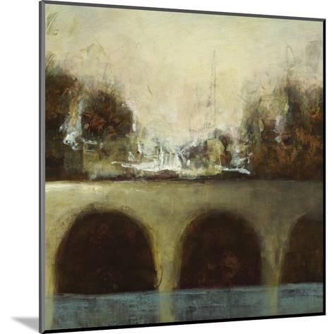Foggy Bridge II-Randy Hibberd-Mounted Art Print