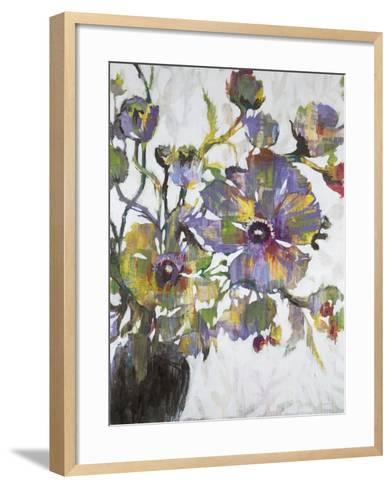 Vivid Poppies-Liz Jardine-Framed Art Print