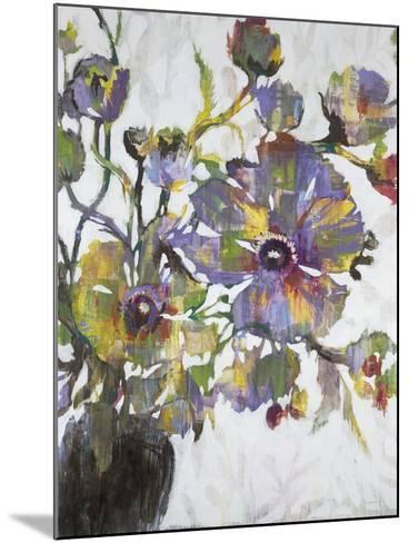 Vivid Poppies-Liz Jardine-Mounted Art Print