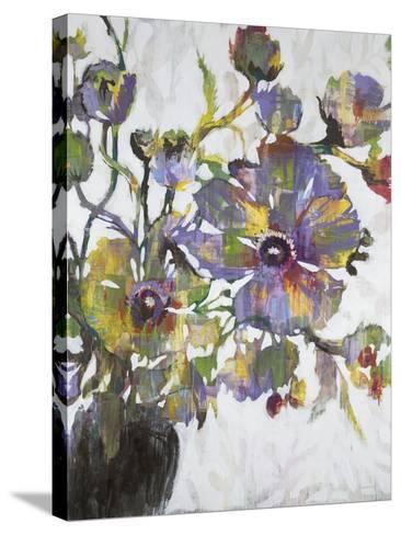 Vivid Poppies-Liz Jardine-Stretched Canvas Print