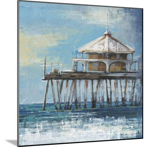Boardwalk Pier-Liz Jardine-Mounted Art Print
